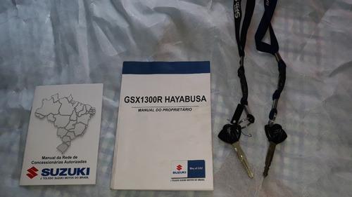 suzuki hayabusa 2013 impecável - 17000km