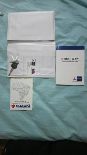 suzuki intruder 125 2015/2016