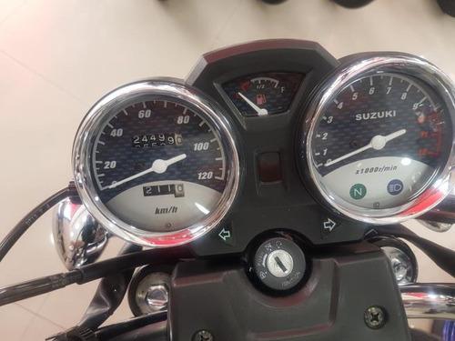 suzuki intruder 125 2016 preta 24000 km