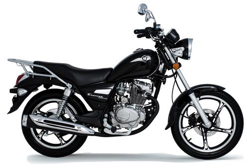 suzuki intruder 125cc - haojue chopper road 150cc 0km 18/19
