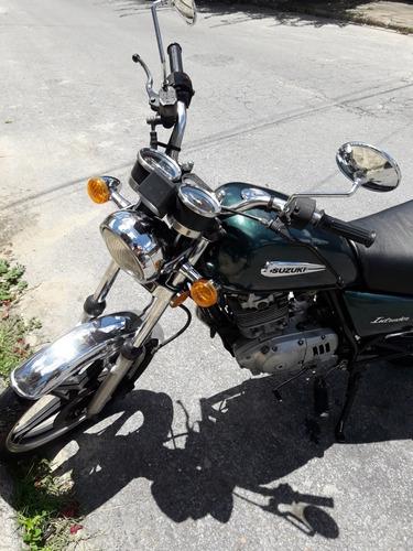 suzuki intruder 125cc verde