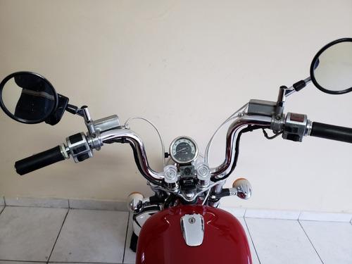 suzuki intruder 800cc vermelha