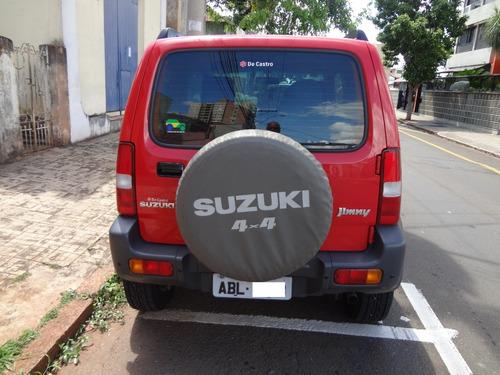 suzuki jimny 4all 1.3 16v 2015 vermelho
