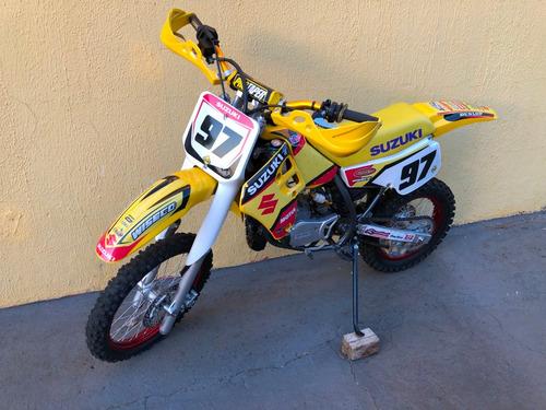 suzuki rm 80 rm80 moto buggy trilha motocross restaurada nf