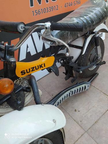 suzuki rv 90 1981 clasica de coleccion