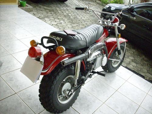 suzuki rv 90 - modelo raro para colecionadores exigentes