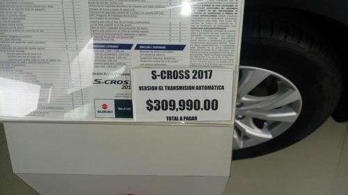 suzuki s-cross 1.6 gl at 2017 autos y camionetas
