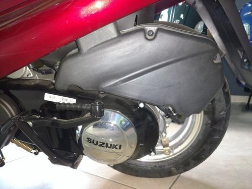 suzuki scooter an 125 0km ahora 12 cuotas en tarjeta 100%
