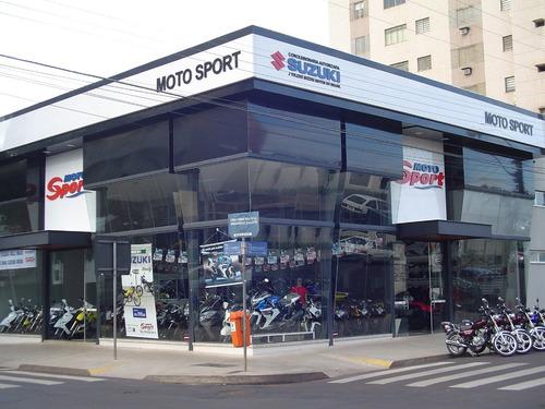 suzuki srad 750 2011 com escape esportivo