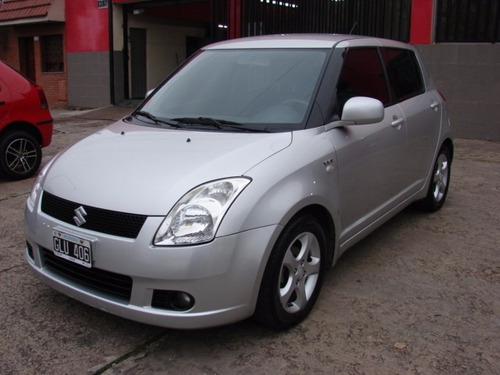 suzuki swift 1.5 vvt 5 ptas año 2007 unico!! 92000 kms
