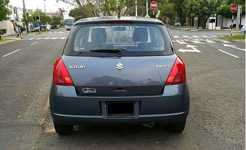 suzuki swift 2007 mecánico 5 velocidades (hatchback)