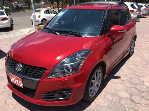 suzuki swift 2015 rojo hangar
