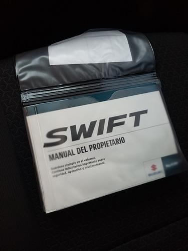 suzuki swift 2018 glx mt nueva linea excelentes condiciones