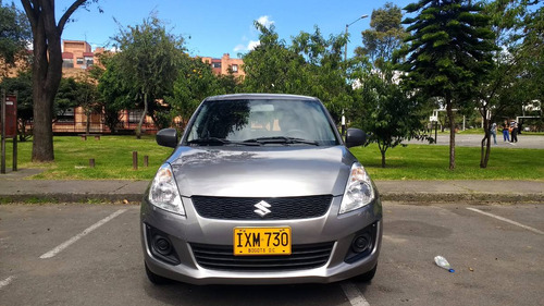 suzuki swift ga 1.2 mt aa gris placa par