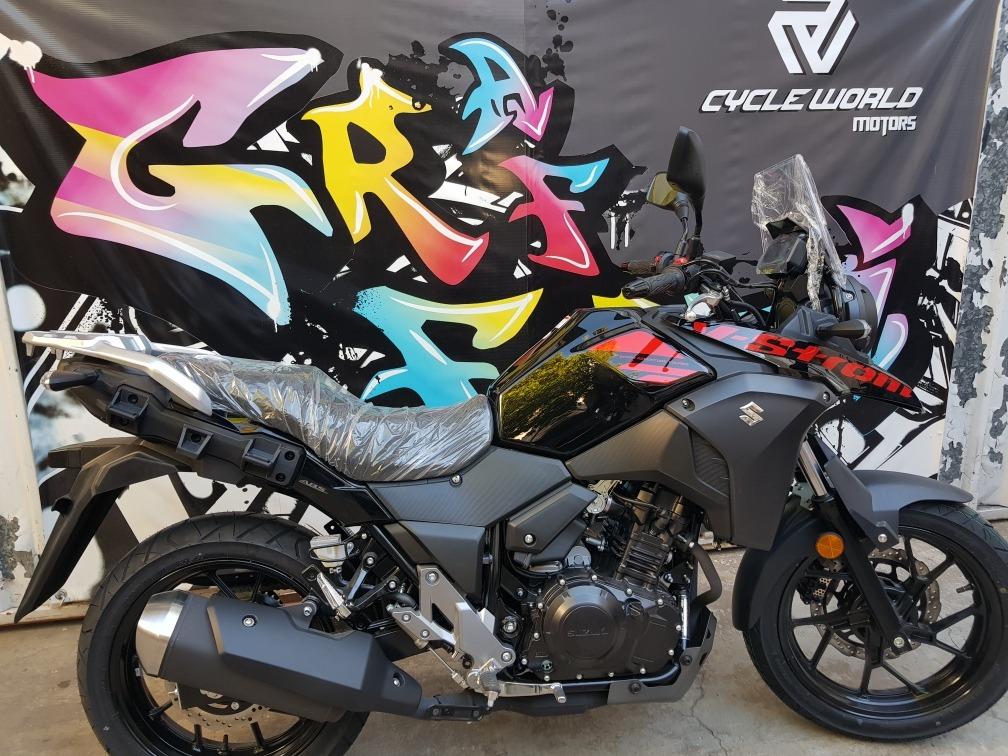 suzuki 250 vstrom touring inj abs 0km 2019 cycle world moto en mercado libre. Black Bedroom Furniture Sets. Home Design Ideas