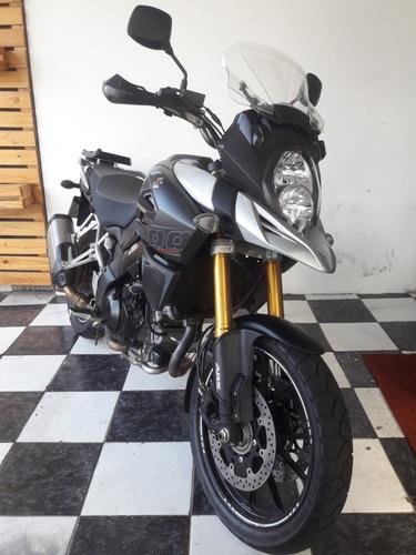 suzuki v-strom 1000 abs 2018 prata tebi motos