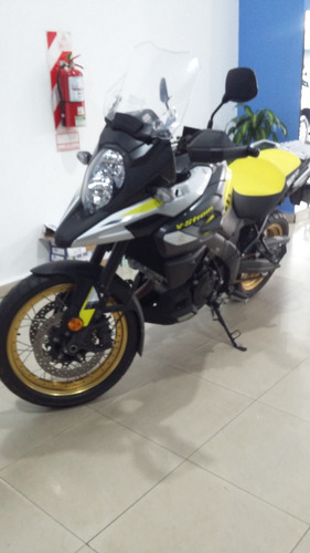 suzuki v-strom 1000 año 2017 impecable - motos mr