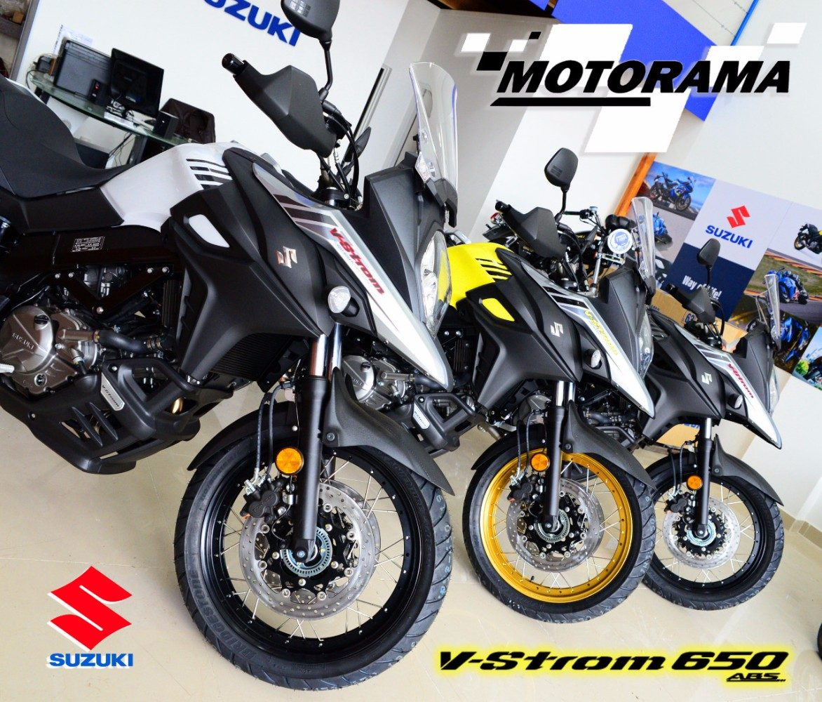 suzuki v strom 650 xt 2018 0km motorama u s en. Black Bedroom Furniture Sets. Home Design Ideas