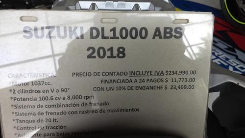 suzuki v-strom dl1000 abs 2018