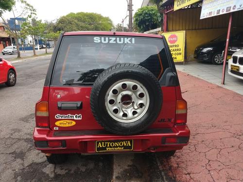 suzuki vitara jlxi 97/97 aut 4x4 revisado couro  raridade