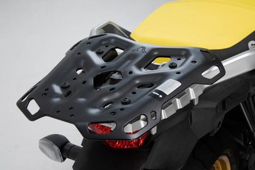 suzuki vstrom 1000 2014- kit top case sw motech ion c/rack