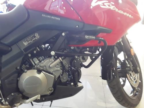 suzuki vstrom 1000 impecable tamburrino motos