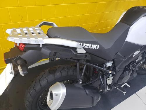 suzuki vstrom 1000 xt 2019 - branca - km 1.700- 1197740-1073