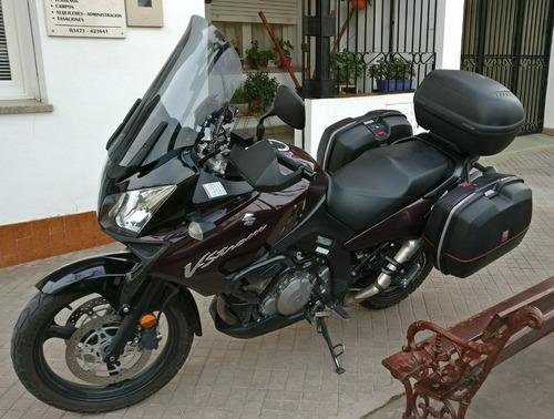 suzuki vstrom dl1000 2009 equipada para viajar!