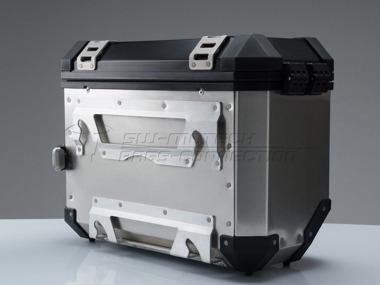 suzuki vstrom kit maletas laterales sw motech aluminio moto
