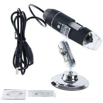 svc microscopio electrónico usb 1600x cámara android