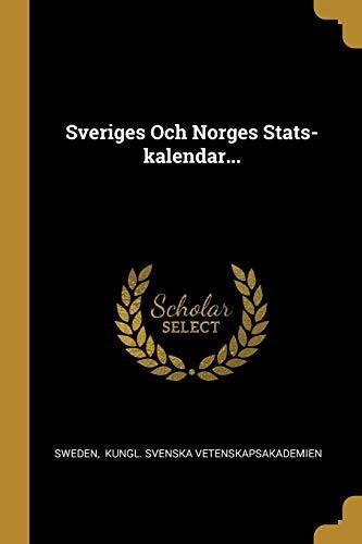 sveriges och norges stats-kalendar... : sweden