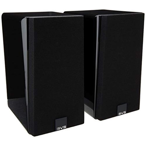 svs satellite speaker  par  - piano gloss black
