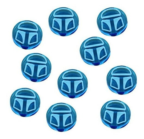 sw: destiny, shield tokens, fluorescent blue (10)