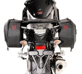 sw motech maletas laterales blaze para honda crossrunner 11-