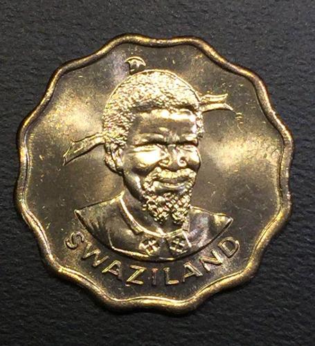 swa006 moneda swazilandia 5 cents 1979 unc-bu ayff
