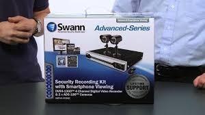 swann h 264 4ch dvr 2 camaras de video nuevas