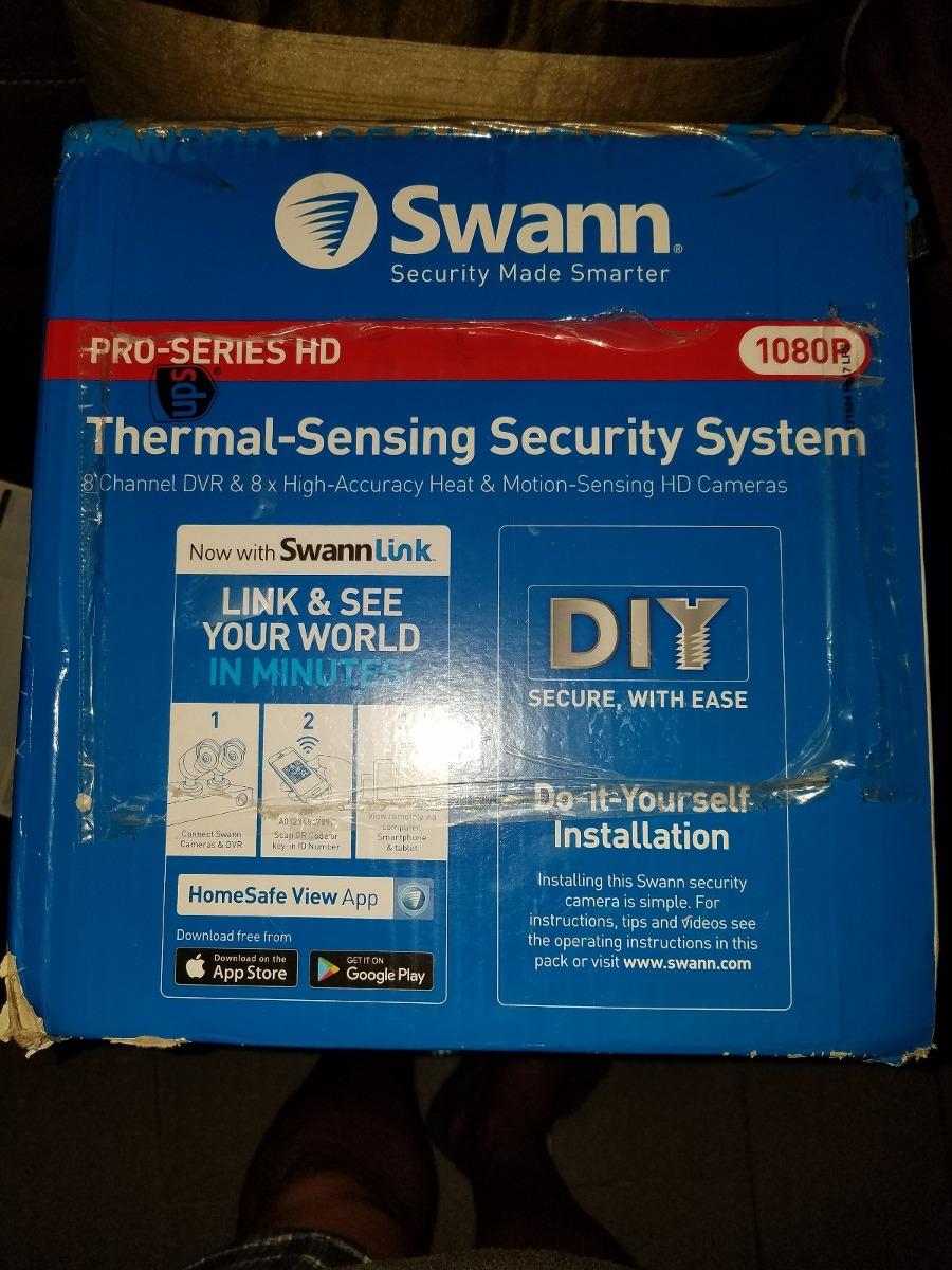 Swann Sistema De Segurida 8 Camaras Full Hd 1tb Nuevo