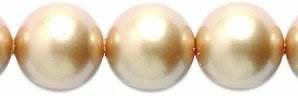swarovski 5810 cuentas de perlas redondas de cristal, 8 mm,