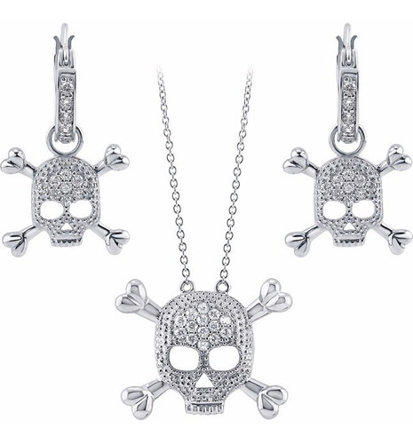 swarovski berricle new york set jolly roger plata diego vez