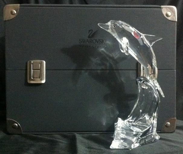 Swarovski delfin figura de cristal 12 en - Figuras de cristal swarovski ...