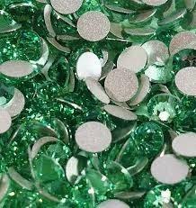 swarovski piedras strass para uñas ss16 - 4mm peridot