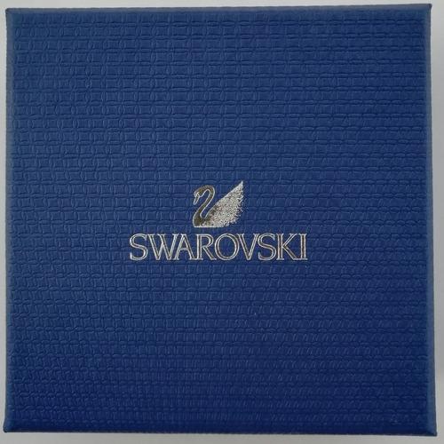 swarovski pulsera collar mujer azul en caja nuevo original!!