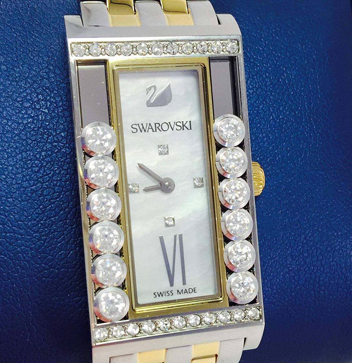 baf98e7893623 Swarovski Women's Lovely Crystals Square Watch Compreonline