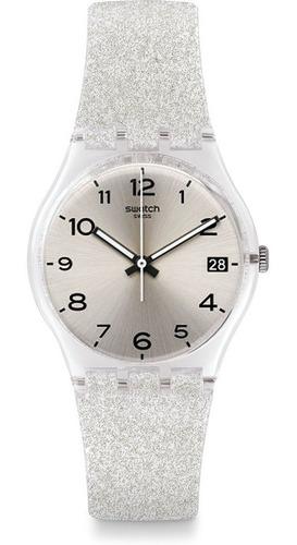 swatch gm416c - 34 mm diámetro - silverblush