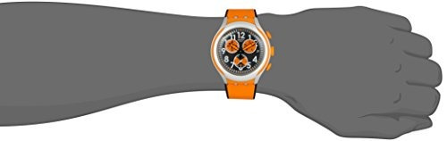 swatch hombres yys4003 irony analog display reloj suizo de c
