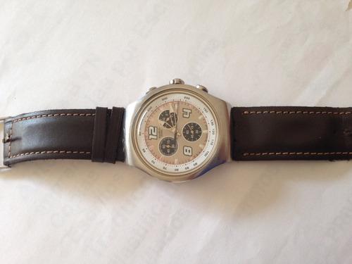 swatch irony chrono usado malla no original estado impecable