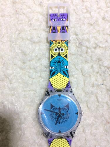 swatch owl - wild totem