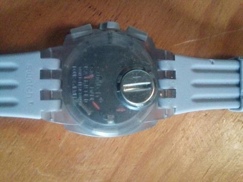 swatch suiw414 crono grey