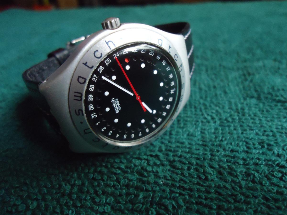 Reloj 600 Swiss En 00 Con Mercado Swatch Libre Aluminio Calendario1 w8vONmn0