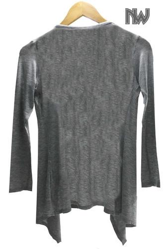 sweater, 0123, cardigan manga larga de moda, tela  expandes